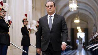 François Hollande au Congrès du Parlement à Versailles le 16 novembre  (Michel Euler / Pool / AFP )