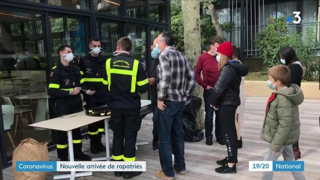 Coronavirus : un deuxième de groupe de rapatriés arrivés en France