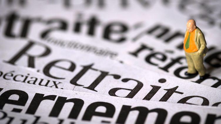 Quatre syndicats appellent à manifester contre la réforme des retraites, le 10 septembre 2013. (JOEL SAGET / AFP)
