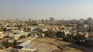 Erbil, capitale du Kurdistan irakien, à 85 kilomètres au sud-est de Mossoul. (LAURENT MACCHIETTI / RADIO FRANCE)