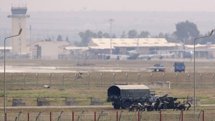 (La base militaire d'Incirlik en Turquie d'où partent des raids ces jours-ci ©  REUTERS/Murad Sezer)