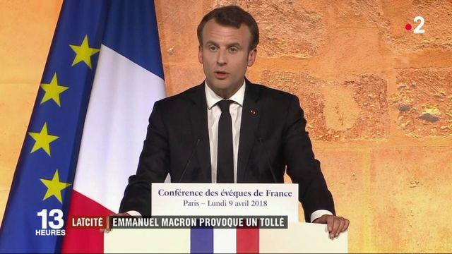 Religion : Emmanuel Macron provoque une polémique sur la laïcité