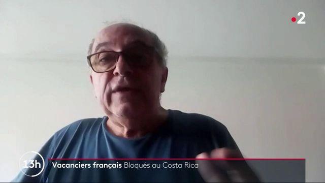 Covid-19 : des vacanciers français bloqués au Costa Rica appellent à l'aide