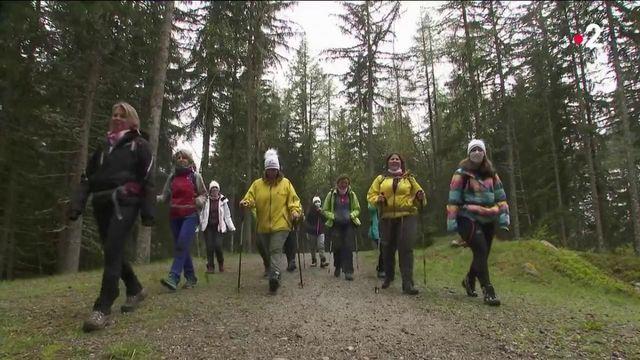 Covid-19:un séjour en montagne pour les soignants épuisés