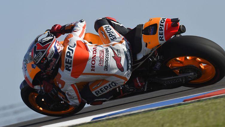 Marc Marquez (Honda) lors du GP d'Argentine (MILAGRO / MILAGRO)