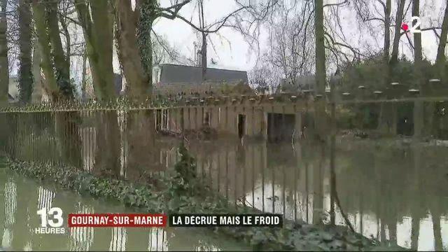 Inondations : la décrue débute à Gournay-sur-Marne