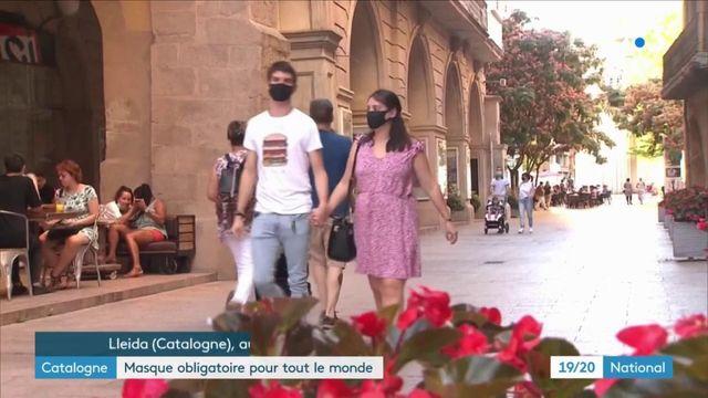 Espagne : en Catalogne, le masque est désormais obligatoire pour tous
