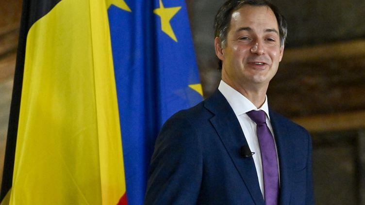 Le Premier ministre belge Alexander De Croo, à Bruxelles (Belgique), mercredi 30 octobre 2020. (DIRK WAEM / BELGA MAG / AFP)
