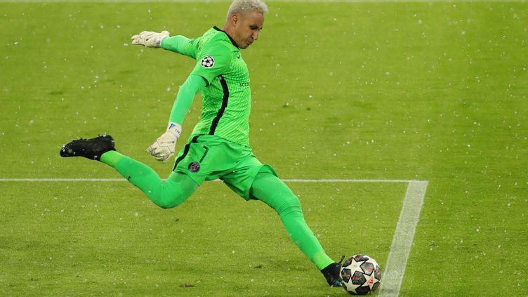 Keylor Navas, gardien du Paris Saint-Germain, a fait un grand match contre le Bayern Munich (MARCEL ENGELBRECHT / AUGENKLICK/FIRO SPORTPHOTO)