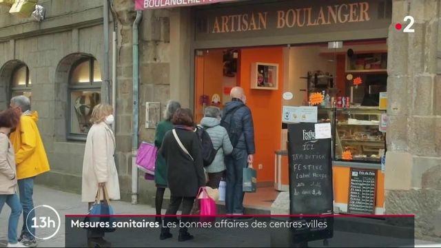 Crise sanitaire : le dynamisme retrouvé des commerces en centre-ville