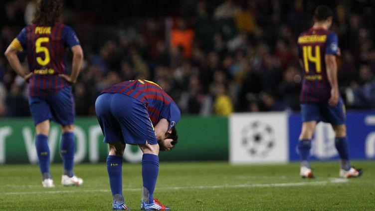La détresse du FC Barcelone éliminé par Chelsea (EMILIO MORENATTI/AP/SIPA / AP)
