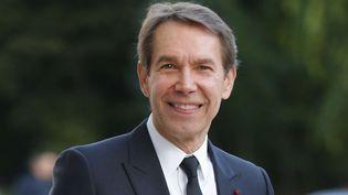 Jeff Koons le 20 octobre dernier lors de l'inauguration de la Fondation Louis Vuitton.  (Jacques Brinon/AP/SIPA)