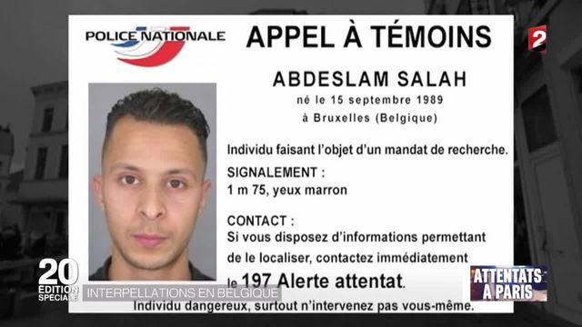Attentats à Paris : la piste belge au coeur de l'enquête