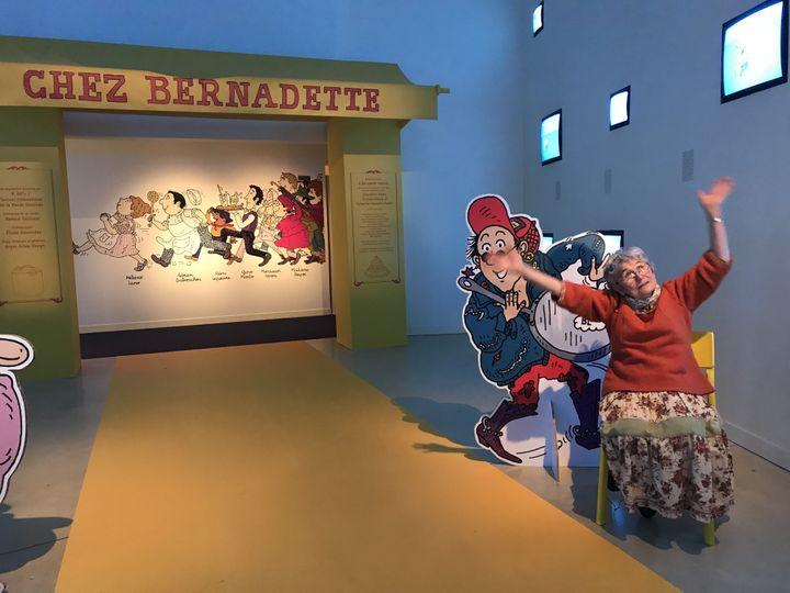 Bernadette Després, Dessinatrice pour la Jeunesse, dans l'exposition qui lui est consacrée à Angoulême, 46e édition du festival international de la BD  (Laurence Houot - Culturebox)
