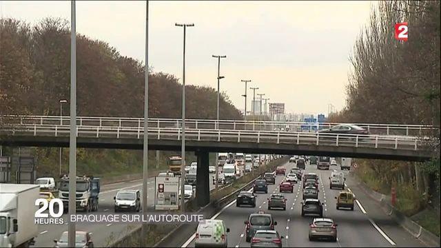 Braquage : deux Qatariennes braquées sur l'autoroute l'A1