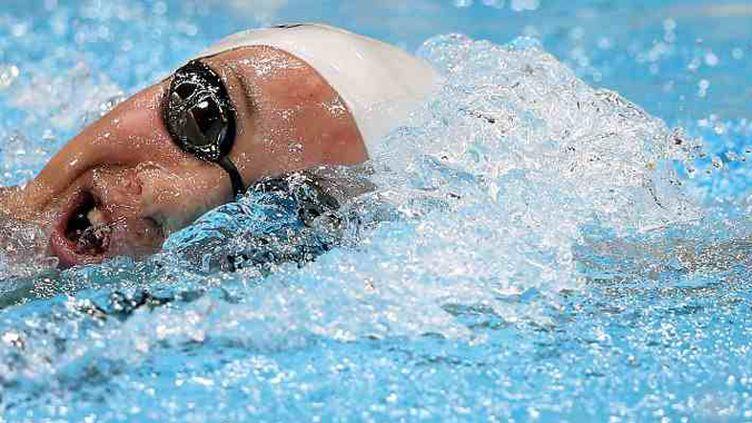 La championne olympique du 400m nage libre, Camille Muffat