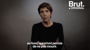 """VIDEO. Inceste : """"Ma vie, c'est cette chose-là, moche"""", témoigne Christine Angot (BRUT)"""