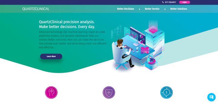 Capture d'écran de la page d'accueil de QuartzDigital, le 5 juin 2020. (QUARTZDIGITAL)