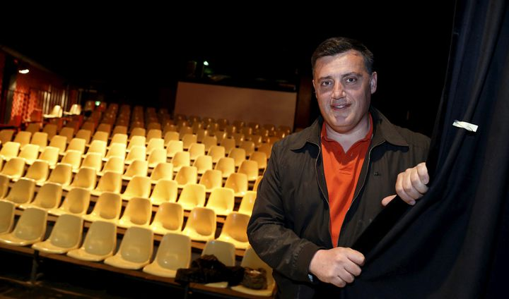 Le directeur du Théâtre de l'Oulle Laurent Rochut.  (Jérôme Rey/Photo PQR La Provence/MaxPPP)