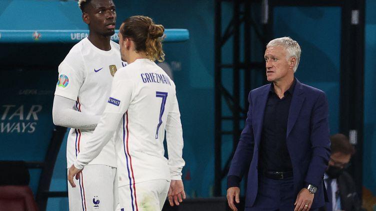 Didier Deschamps va-t-il confier les clés de l'équipe de France à Paul Pogba après l'Euro 2021 ? (BERNADETT SZABO / AFP)