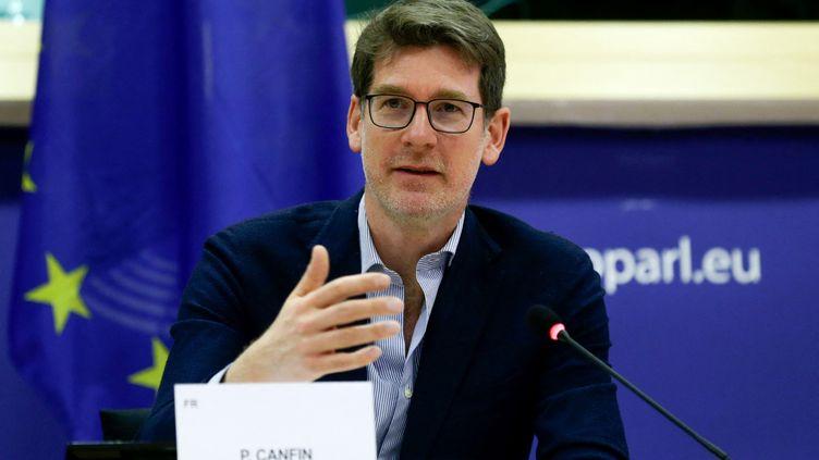 Pascal Canfin, président de la commission environnement et santé publique au Parlement européen,le 15 mars 2021. (ARIS OIKONOMOU / AFP)