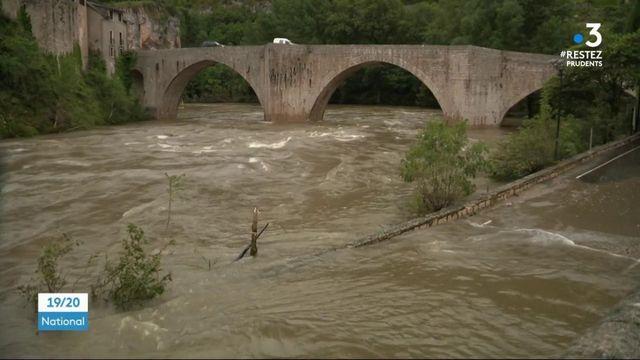 Inondations en Lozère : une catastrophe de plus pour les habitants de Sainte-Énimie