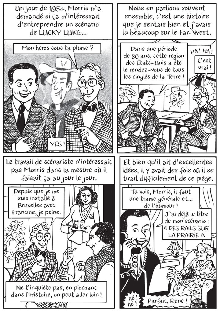 """'""""Le roman des Goscinny, naissance d'un Gaulois"""", page 261 (Catel / Grasset)"""