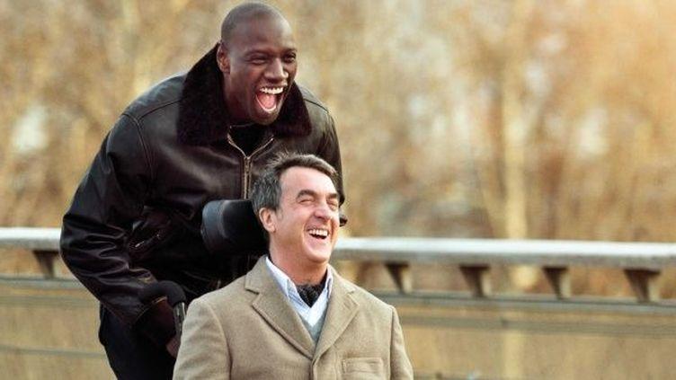 """François Cluzet et Omar Sy dans le film """"Intouchables""""  (DDP IMAGES FILMFOTOS/SIPA )"""