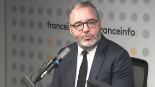 Rachid Temal, sénateur socialiste était l'invité de franceinfo, le 16 octobre 2021. (FRANCEINFO)