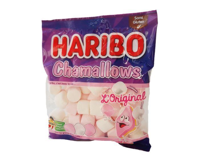Les Chamallows de la marque Haribo. (FOODWATCH)