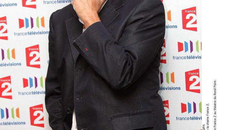 L'animateur Tex lors d'une conférence de presse de rentrée de la chaîne France 2, au théâtre du Rond Point à Paris, le 5 août 2011. (CHESNOT / SIPA)