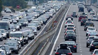 Sur l'autoroute A7 entre Vienne et Valence (Drôme), le 1er août 2015. (PHILIPPE DESMAZES / AFP)