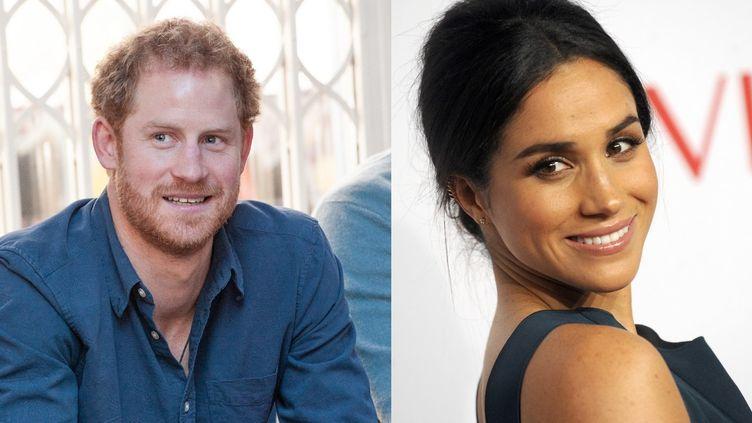 le prince Harry a été forcé d'officialiser sa relation avec l'actrice britannique Meghan Markle. (RICHARD STONEHOUSE / DENNIS VAN TINE / MAXPPP)