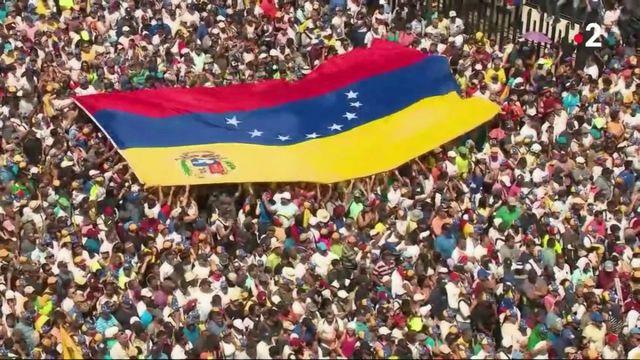 Venezuela : grande manifestation contre Nicolas Maduro à Caracas