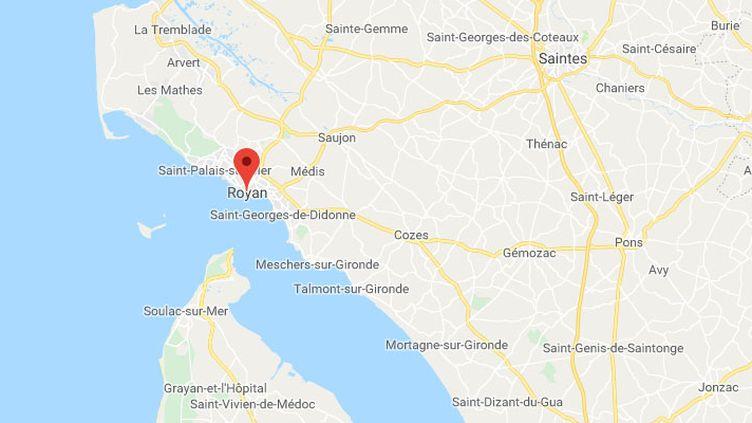 La rencontre a eu lieu à Royan, en Gironde. (GOOGLE MAPS)