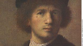 Un autoportrait de Rembrandt en jeune homme. (MARY EVANS / SIPA)