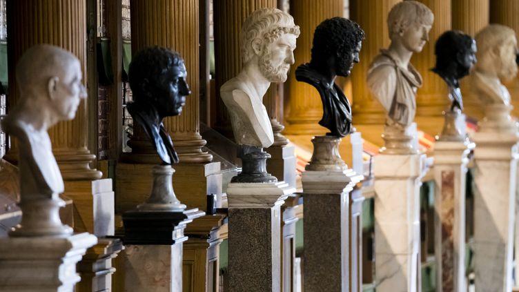 L'Institut de France, où se réunit l'Académie française, le 15 septembre 2018 à Paris. (MAXPPP)