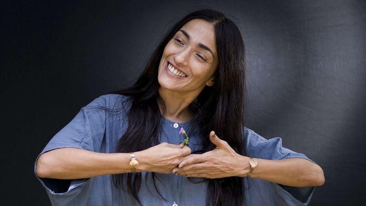 La chanteuse marocaine Hindi Zahra  (Domenico Stinellis/AP/SIPA)