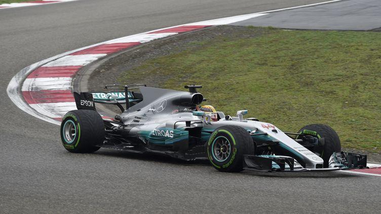 Le pilote Mercedes Lewis Hamilton (WANG ZHAO / AFP)
