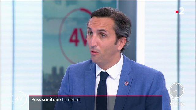 """Covid-19 : """"Je prône que l'on débatte de la vaccination obligatoire"""", indique Julien Aubert (LR)"""