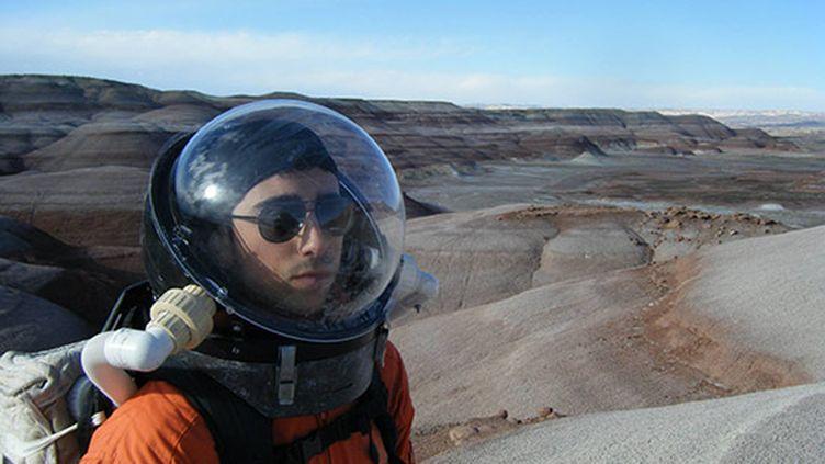 Une photo de Cyprien Vasseur, le Français qui participe à l'expérience de la Nasa, postée sur le site de l'école d'ingénieurs Sup'Biotech. (SUP-BIOTECH)
