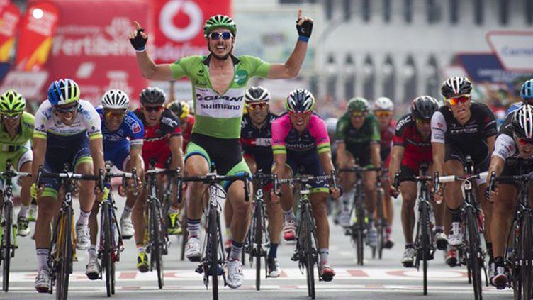John Degenkolb vainqueur de la 17e étape de la Vuelta 2014 (JAIME REINA / AFP)