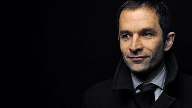 Benoît Hamon, un des leaders de l'aile gauche du PS. (FRED DUFOUR / AFP)