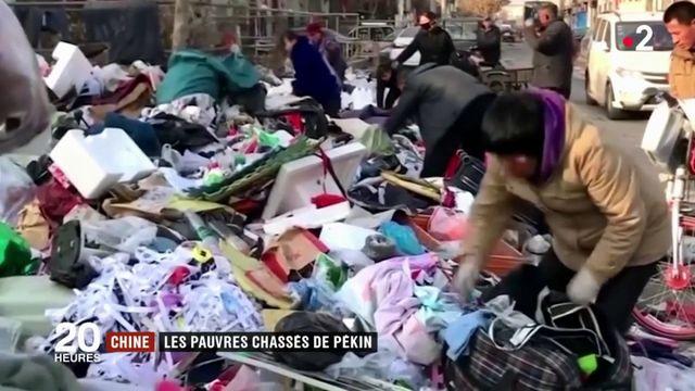 Chine : les pauvres chassés de Pékin