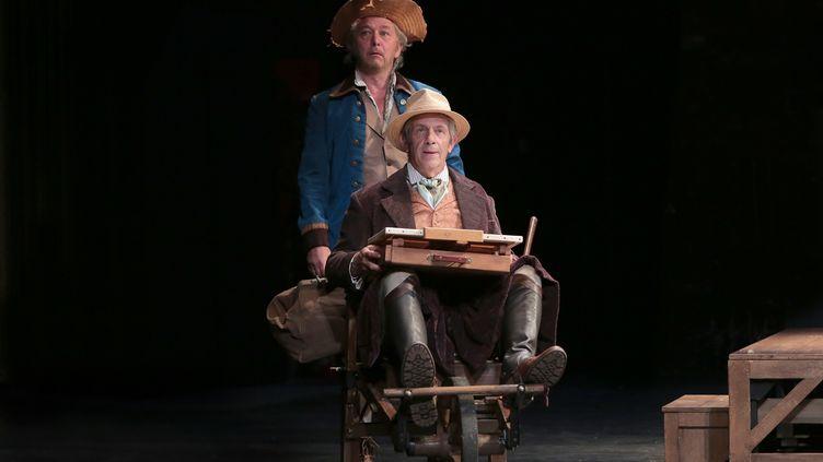 """""""Jacques et son Maître"""" de Kundera au Théâtre Montparnasse (FABIENNE RAPPENEAU)"""