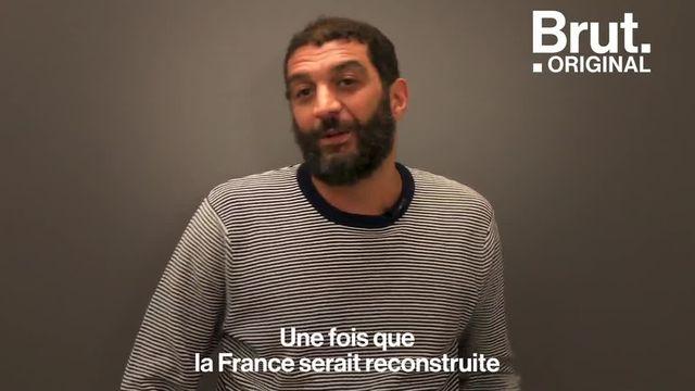 """Dans la série de documentaires """"Histoires d'une Nation"""", Ramzy Bédia revient sur ses origines algériennes et déplore le manque d'apprentissage de l'histoire de l'immigration à l'école. Brut s'est entretenu avec l'acteur et humoriste sur ce sujet."""