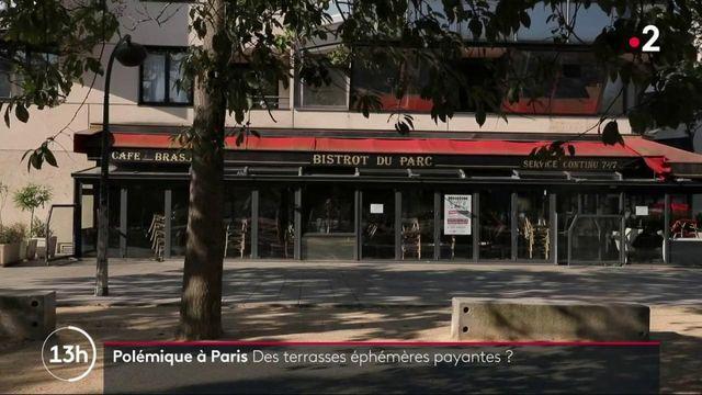 Paris : polémique autour d'une redevance pour les terrasses éphémères