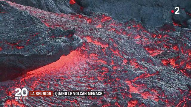La Réunion : les scientifiques surveillent l'éruption du Piton de la Fournais