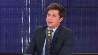 """Julien Denormandie, ministre chargé de la Ville et du Logement, invité du """"8h30 franceinfo"""", mercredi 30 octobre 2019. (FRANCEINFO / RADIOFRANCE)"""
