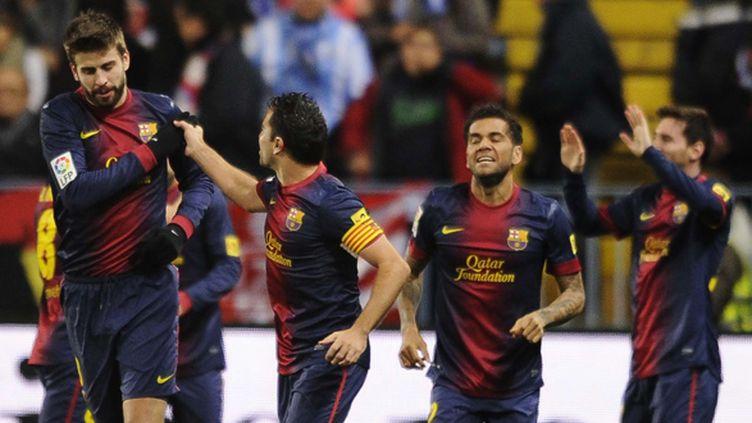 La joie du Barça